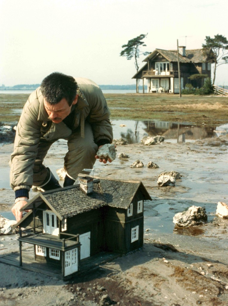 "Tarkovsky on the set of ""The Sacrifice"""