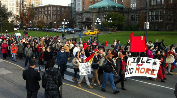 Idle No More in Victoria