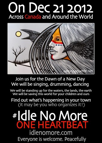 Idle No More typically has been inclusive, promoting a better life for all.