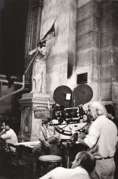 Bresson at work with his mind's eye.