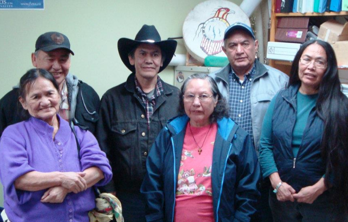 Even after the massive depopulation of Tsilhqot'in Territory, Tetzan Biny has seen constant usage. These are remembers of the Williams family who have enjoyed its benefits.