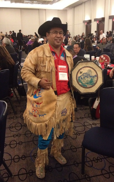 Chief Roger William of the Xeni Gwet'in, the named plaintiff in this historic case.